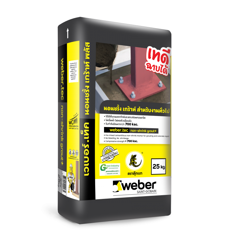 webertec non shrink grout plus