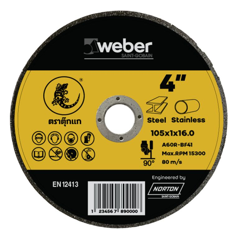 weber 4 inch cut off wheel
